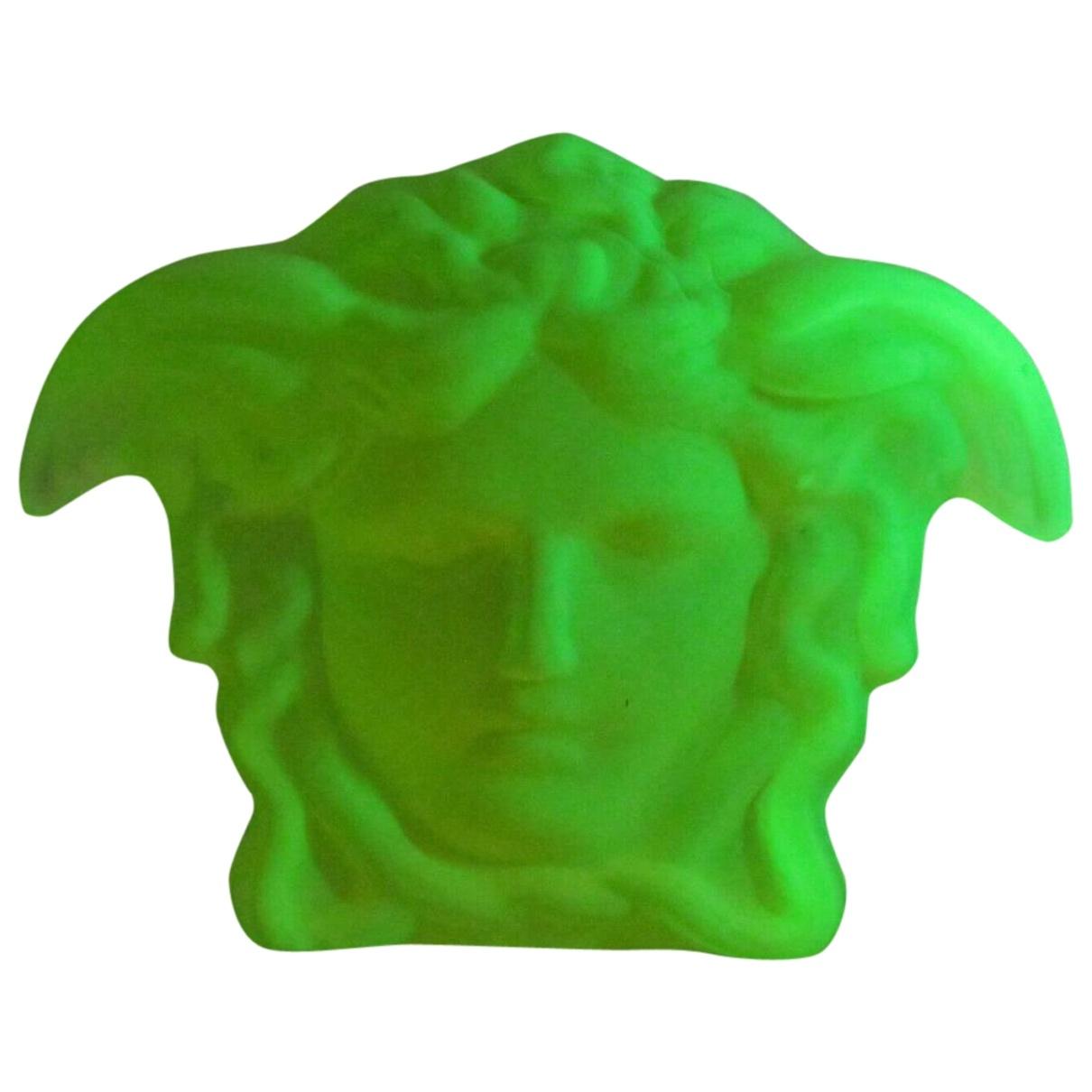 Versace - Arts de la table   pour lifestyle en cristal - vert