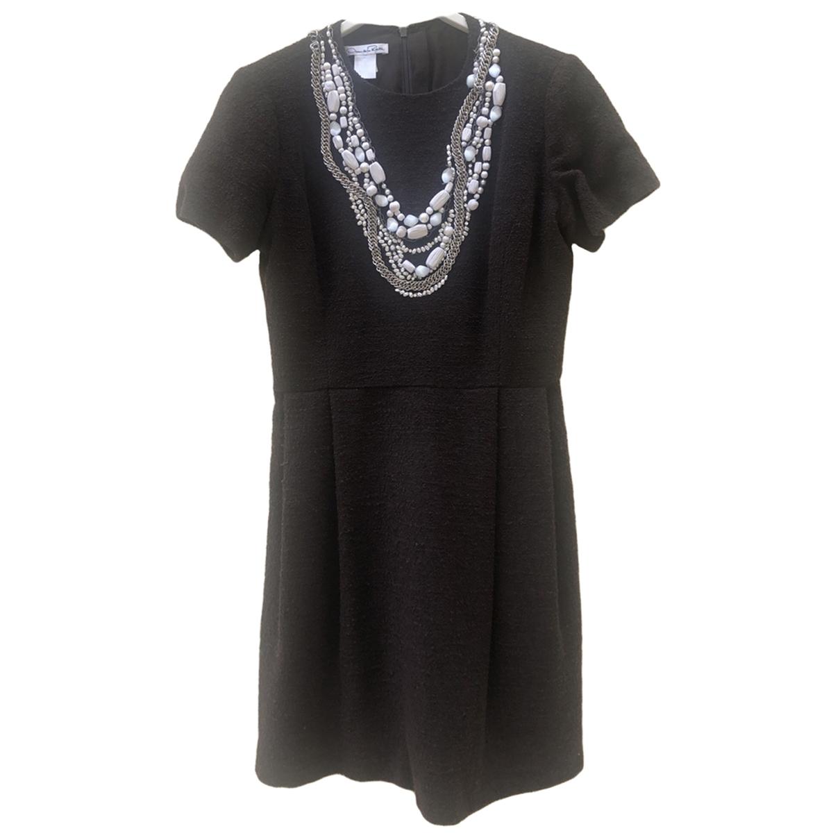 Oscar De La Renta \N Kleid in  Braun Wolle