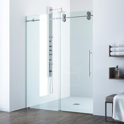Elan Collection VG6041CHCL5274 Adjustable Frameless Sliding Shower