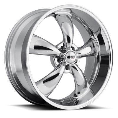 Classic 16x8 5x120.65 00MM 24 Lbs Chrome Aluminum Wheels 100 Classic Series REV Wheels 100C-6806100