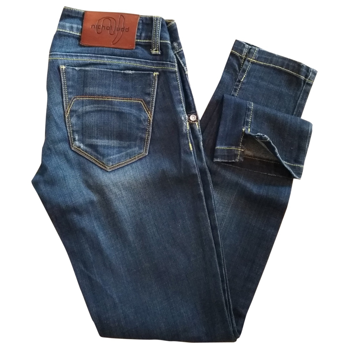Roy Roger's \N Blue Cotton - elasthane Jeans for Women 26 US
