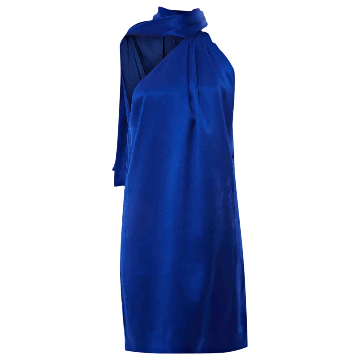Genny \N Blue Silk dress for Women 38 IT