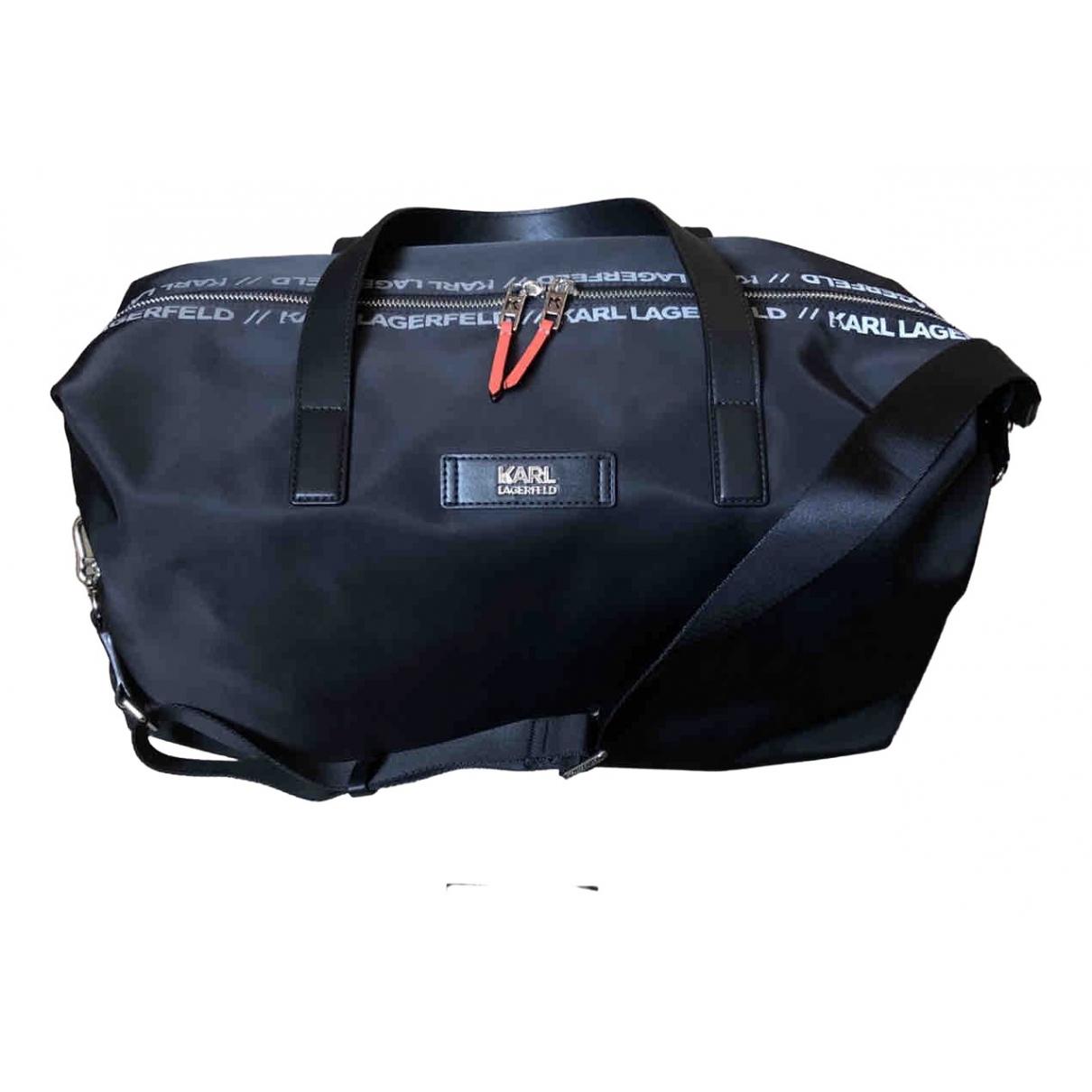 Karl Lagerfeld \N Black Travel bag for Women \N