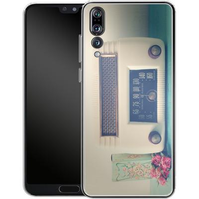 Huawei P20 Pro Silikon Handyhuelle - Retro Radio von Joy StClaire