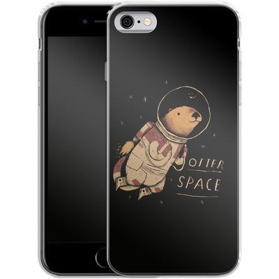 Apple iPhone 6s Silikon Handyhuelle - Otter Space von Louis Ros