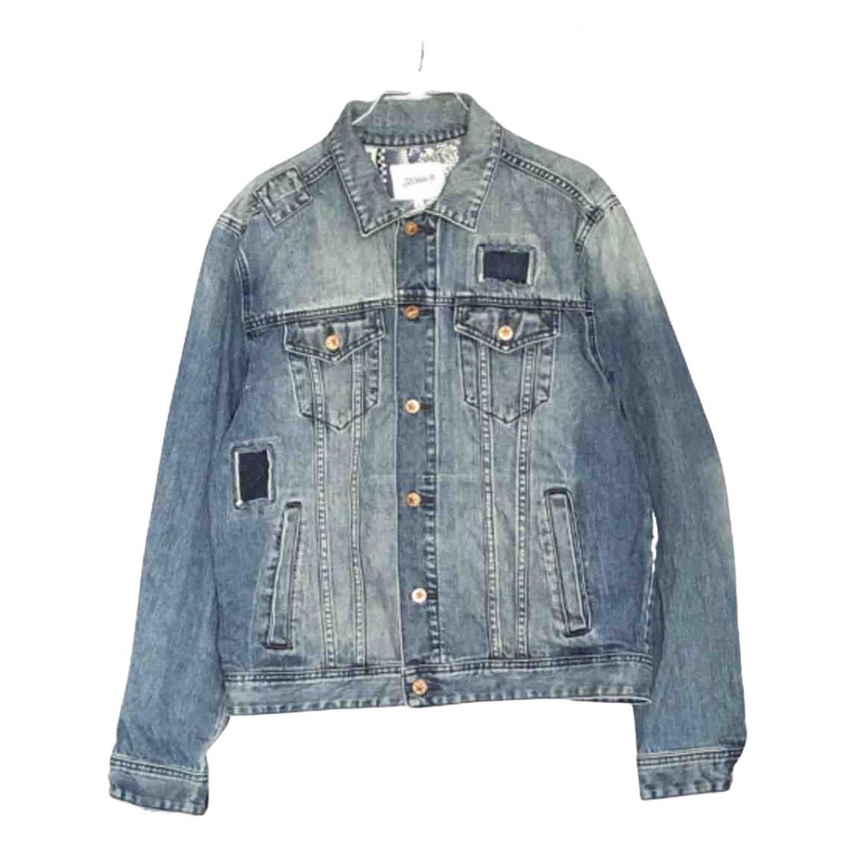 Jean Paul Gaultier \N Jacke in  Blau Denim - Jeans