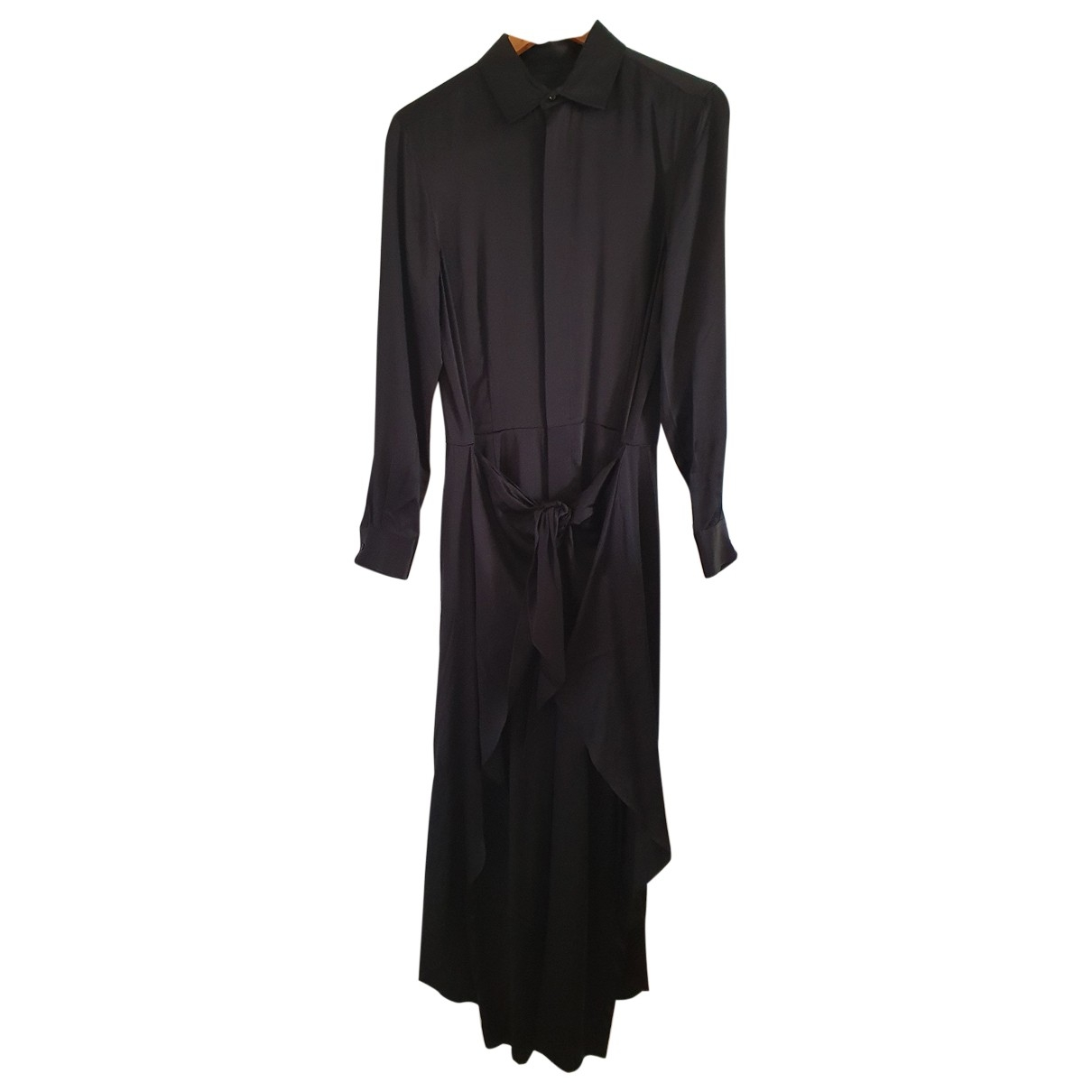 Polo Ralph Lauren - Combinaison   pour femme en soie - noir