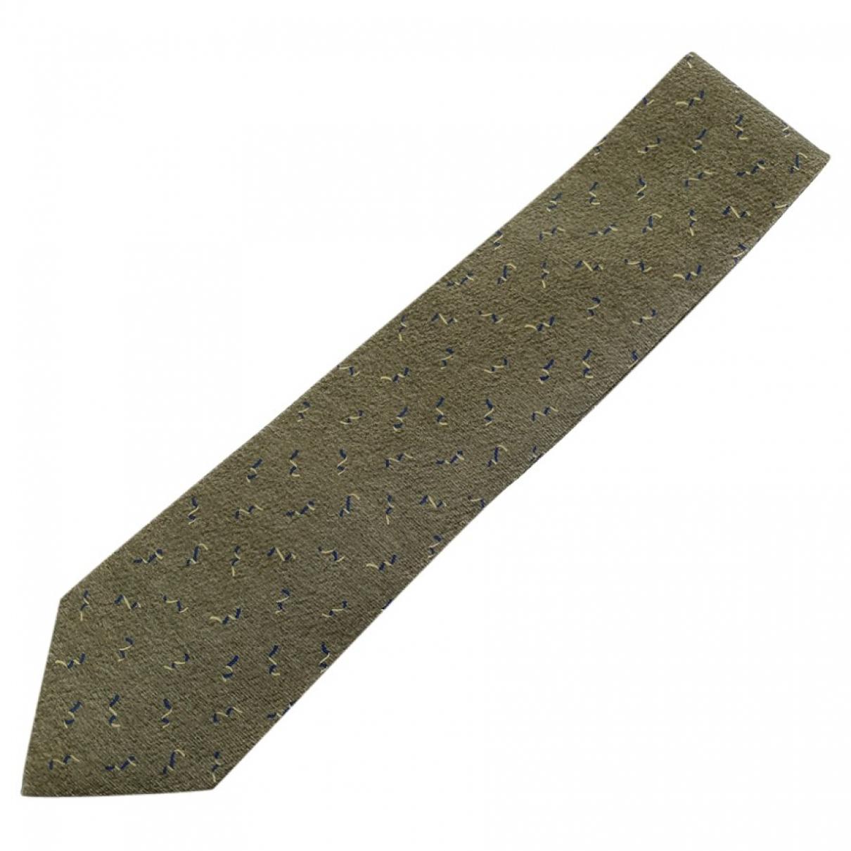 Bvlgari \N Krawatten in Seide