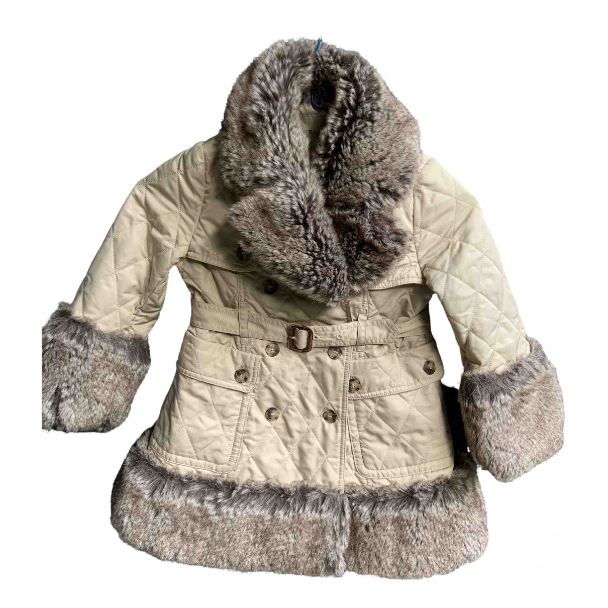 Burberry - Blousons.Manteaux   pour enfant - beige