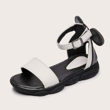 Girls Colorblock Ankle Strap Sandals