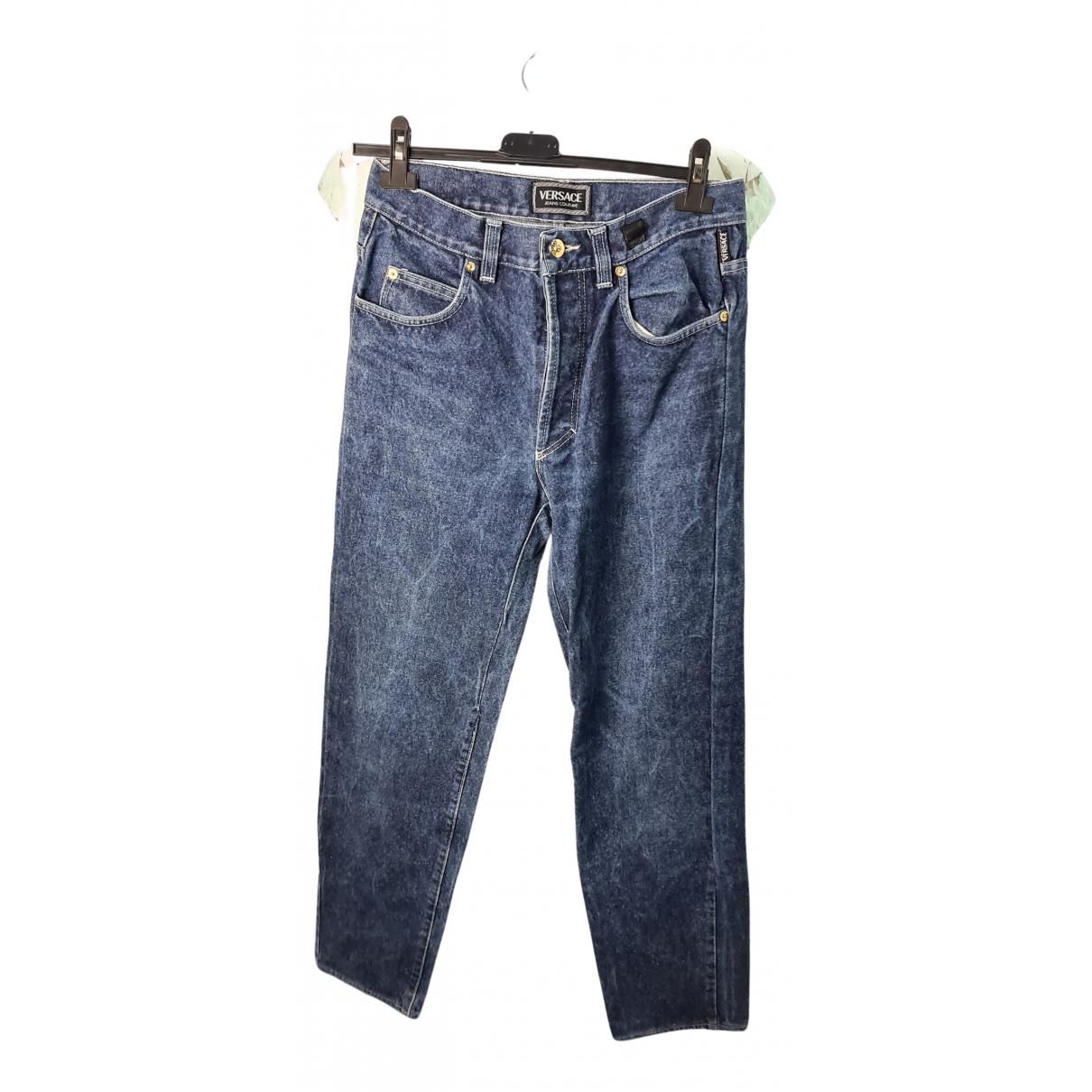 Versace Jeans N Blue Cotton Jeans for Men 33 US
