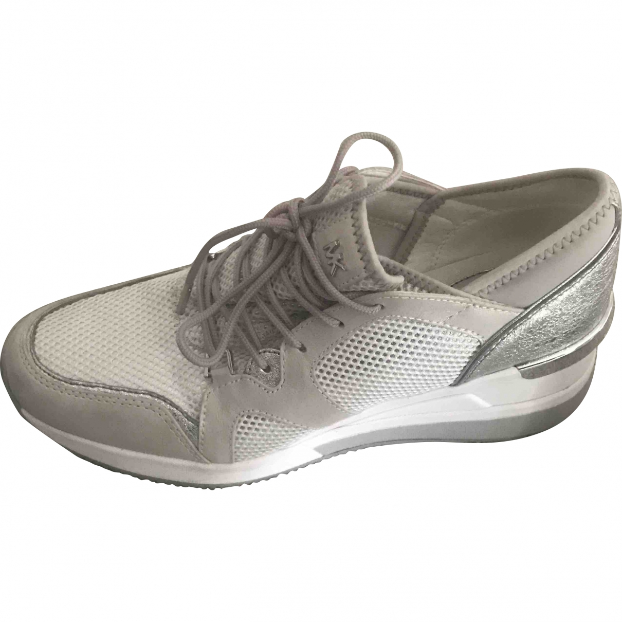 Michael Kors \N White Leather Trainers for Women 5.5 UK