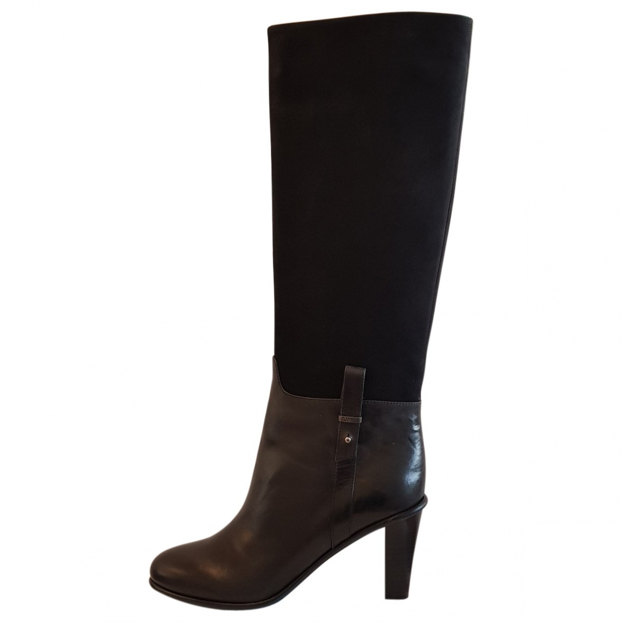 Jil Sander \N Black Leather Boots for Women 41 EU
