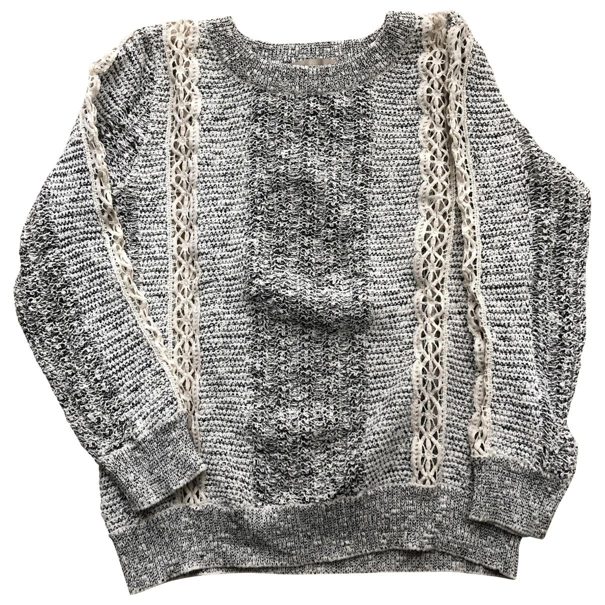 Vanessa Bruno \N White Cotton Knitwear for Women 38 FR