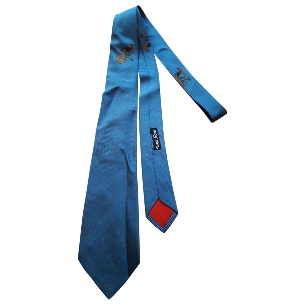 Jean Paul Gaultier \N Blue Silk Ties for Men \N