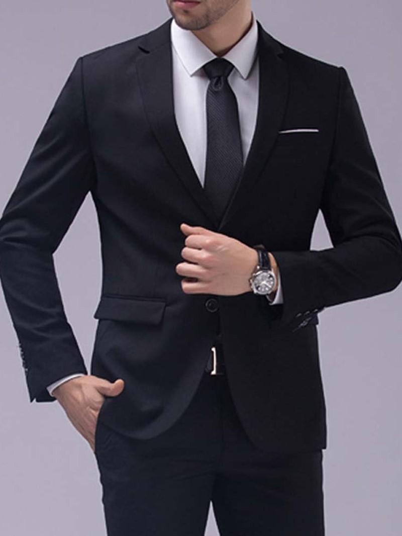 Ericdress Formal One Button Vest Dress Suit
