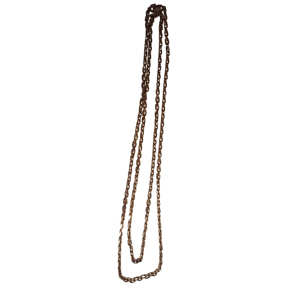 Dior \N Halskette in  Gold Vergoldet