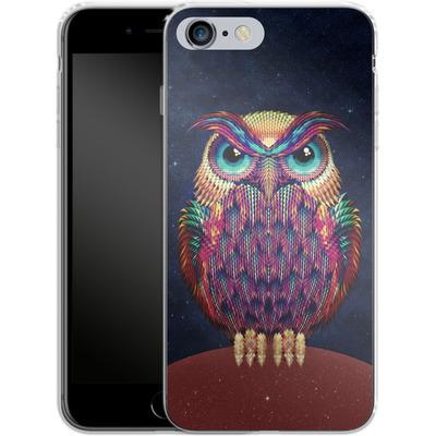 Apple iPhone 6s Plus Silikon Handyhuelle - Owl von Ali Gulec