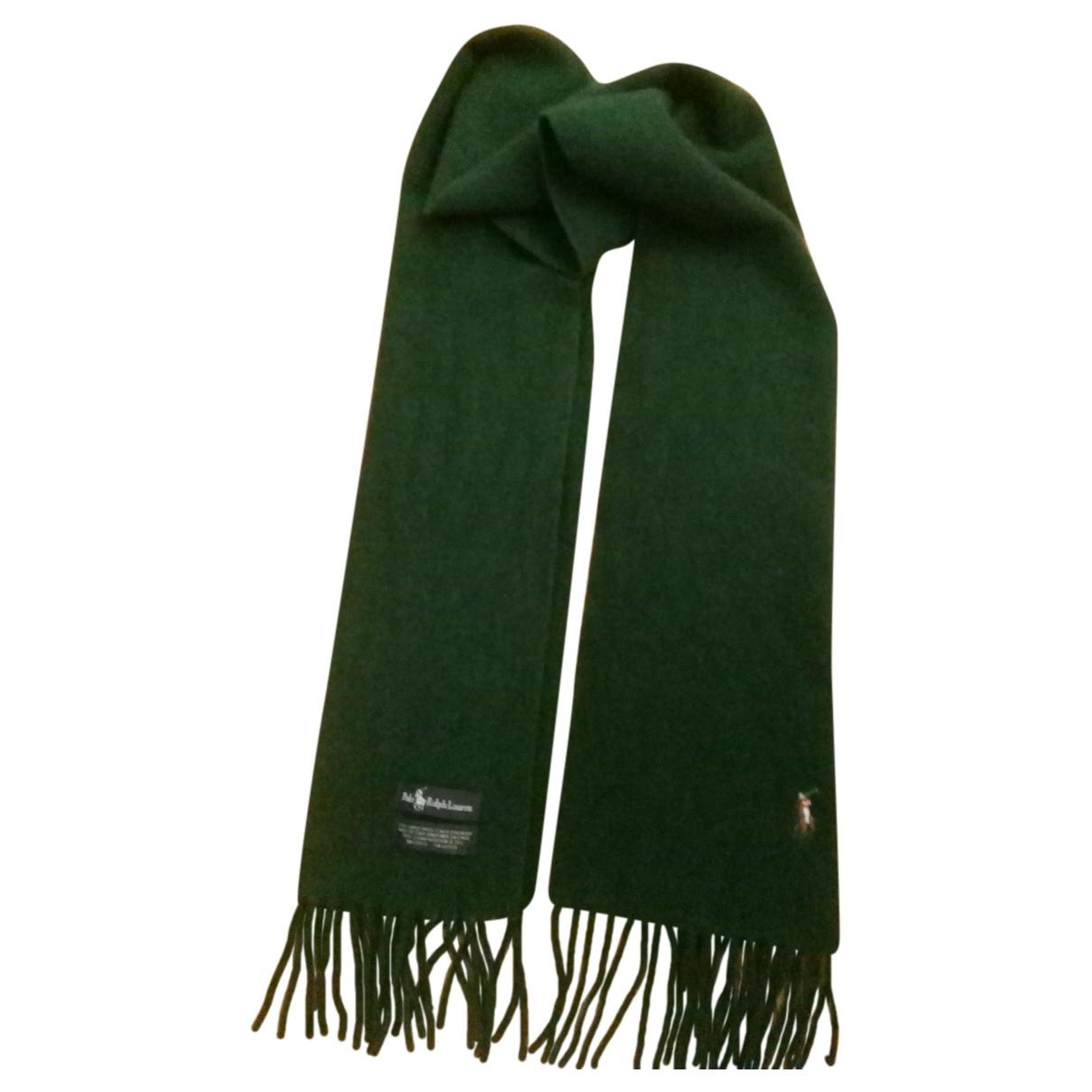 Polo Ralph Lauren \N Tuecher, Schal in  Gruen Wolle