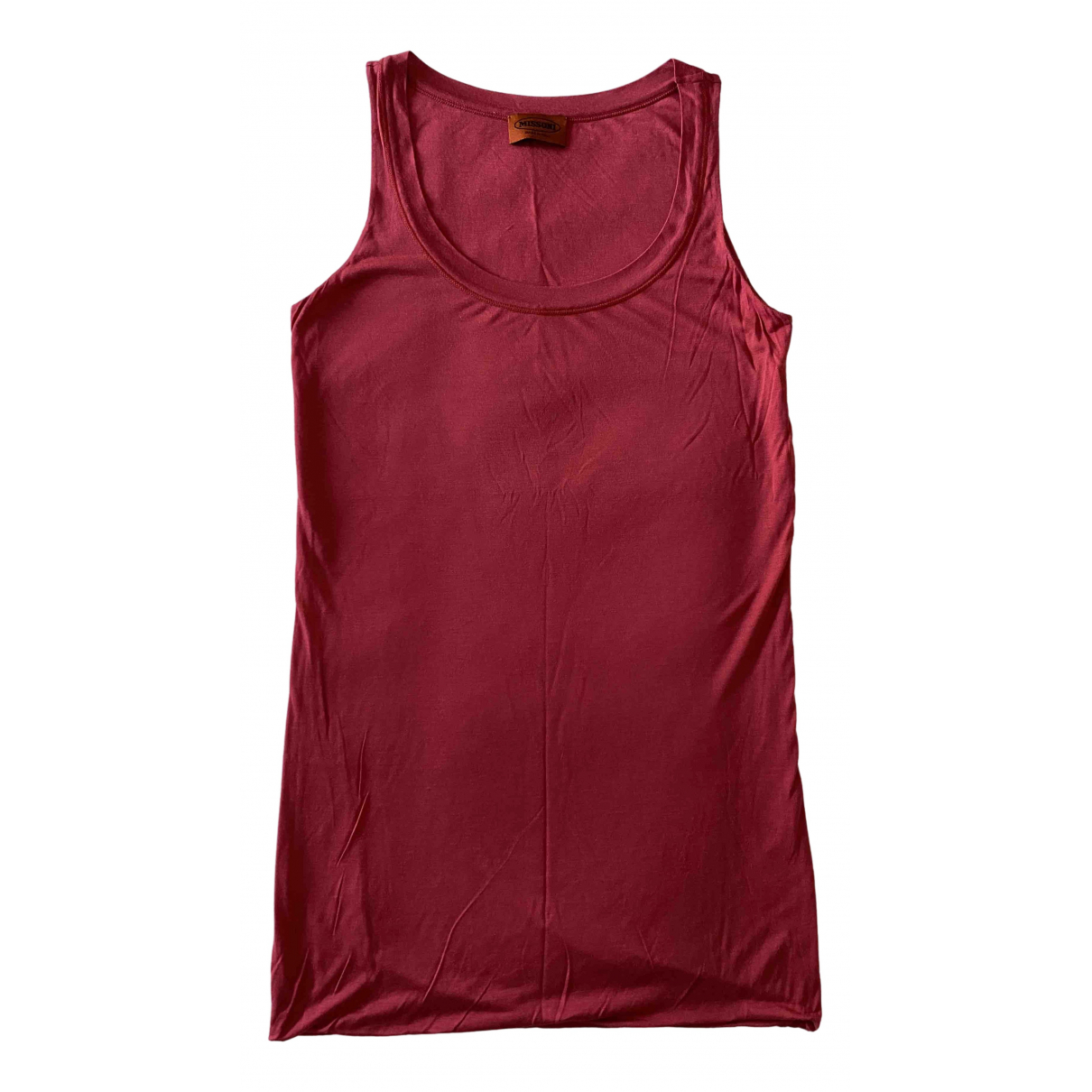 Missoni \N Kleid in  Rot Viskose