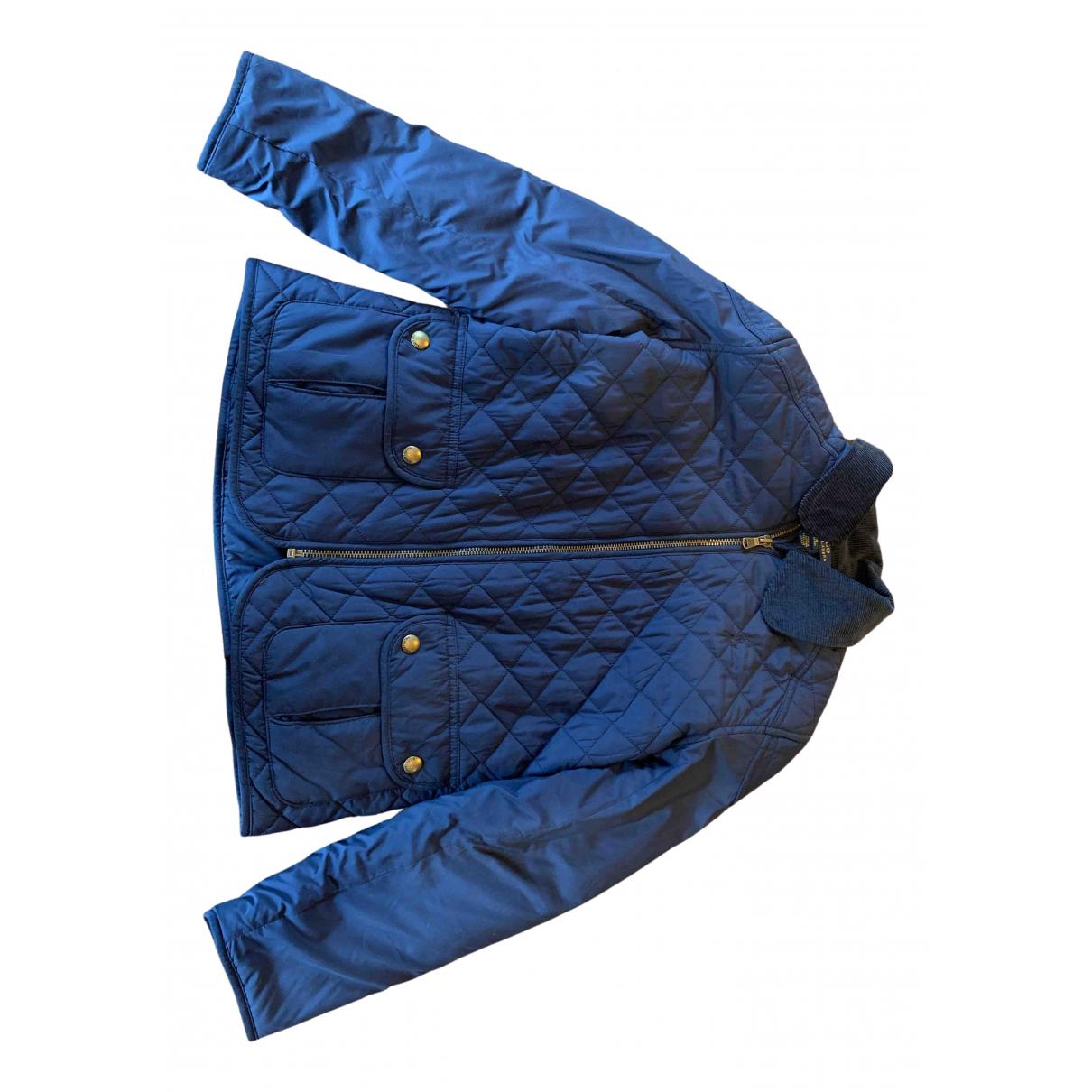 Polo Ralph Lauren \N Jacke, Maentel in  Marine Polyester