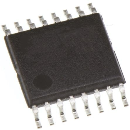 Maxim Integrated MAX1153BEUE+, 10 bit Serial ADC 10-Channel Differential, Single Ended Input, 16-Pin TSSOP (96)