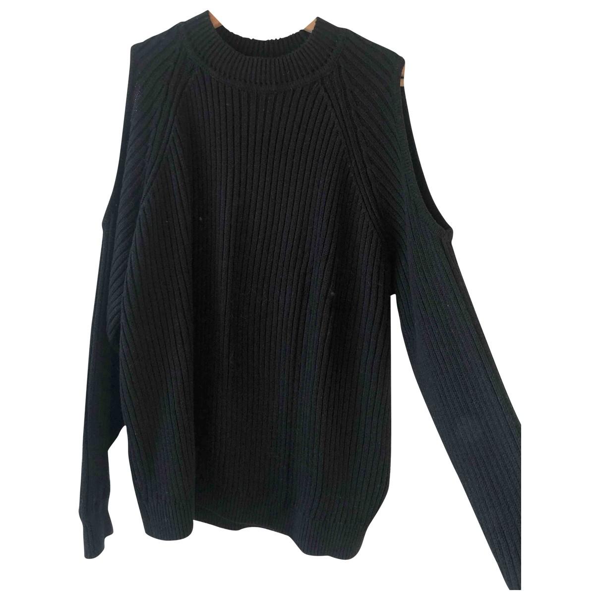 H&m Studio - Pull   pour femme en coton - noir