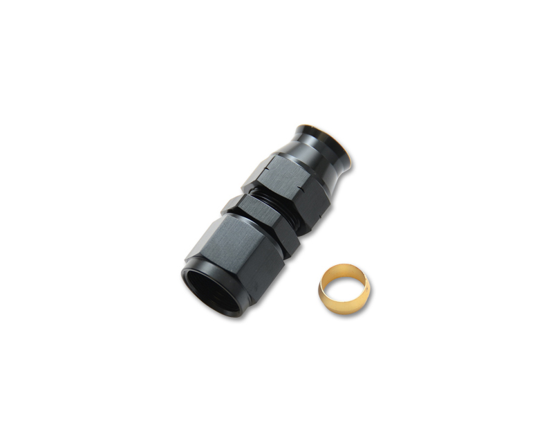 Vibrant Performance 16446 Anodized Black -6AN Female to 3/8