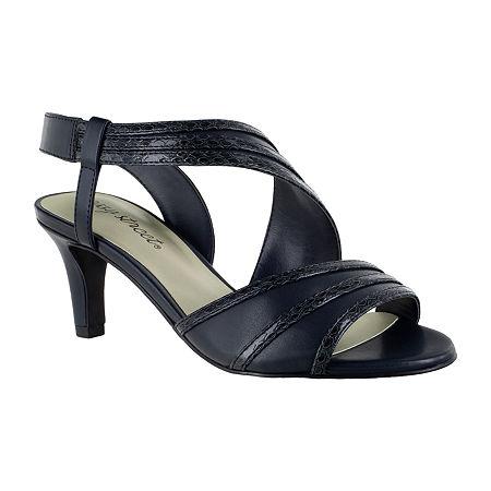 Easy Street Womens Magnolia Pumps Spike Heel, 7 Medium, Blue