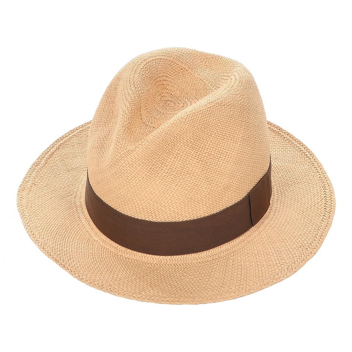 - Chapeau   pour femme en paille - marron