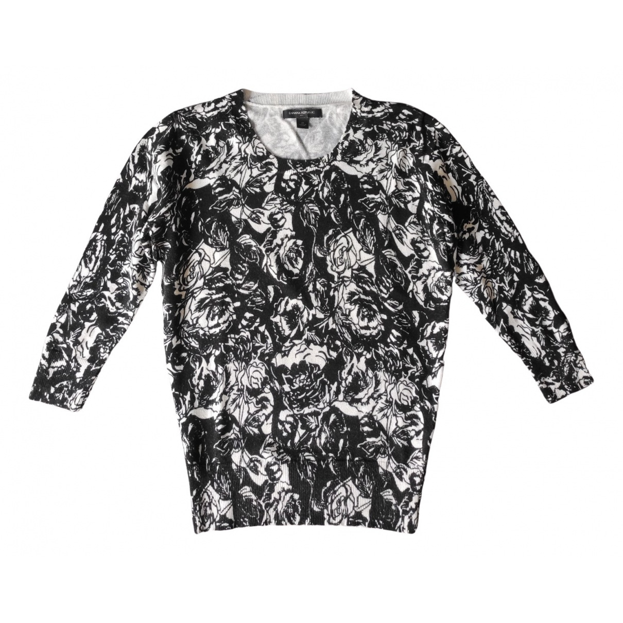 Banana Republic \N Black Cotton Knitwear for Women 34 FR