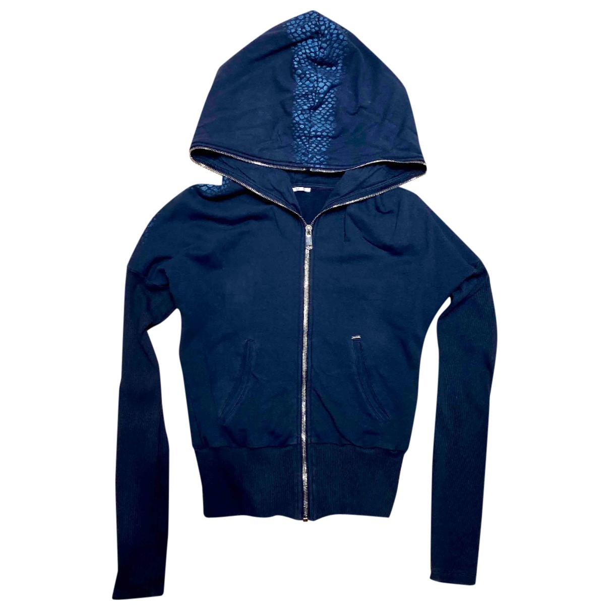 Gas - Veste   pour femme en coton - bleu