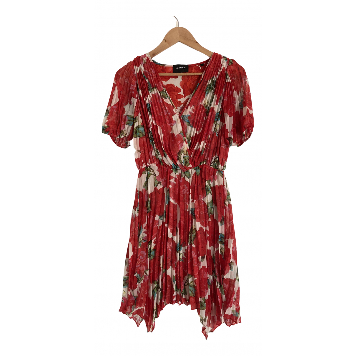 The Kooples Spring Summer 2020 Red dress for Women 36 FR