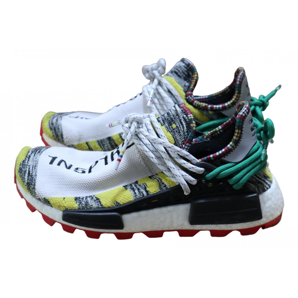 Adidas X Pharrell Williams NMD Hu Multicolour Cloth Trainers for Men 6.5 US
