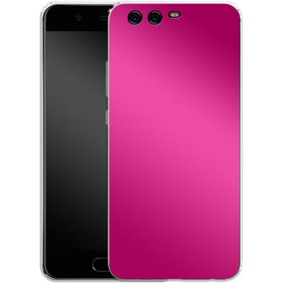 Huawei P10 Silikon Handyhuelle - Test Magenta von caseable Designs