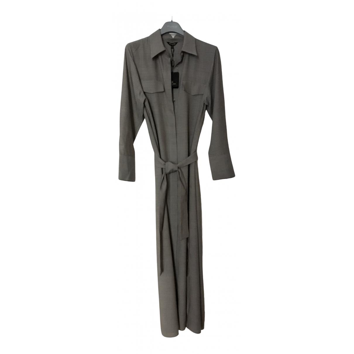 Massimo Dutti - Robe   pour femme - gris