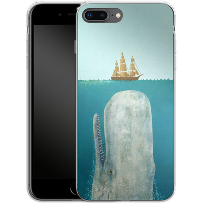 Apple iPhone 7 Plus Silikon Handyhuelle - The Whale von Terry Fan
