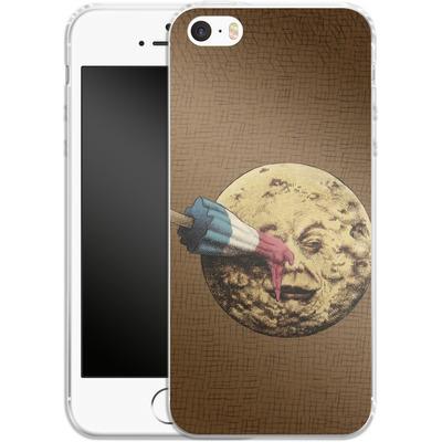 Apple iPhone 5s Silikon Handyhuelle - Summer Voyage von Eric Fan