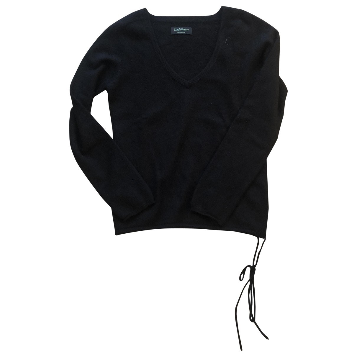 Zadig & Voltaire - Pull   pour femme en cachemire - noir