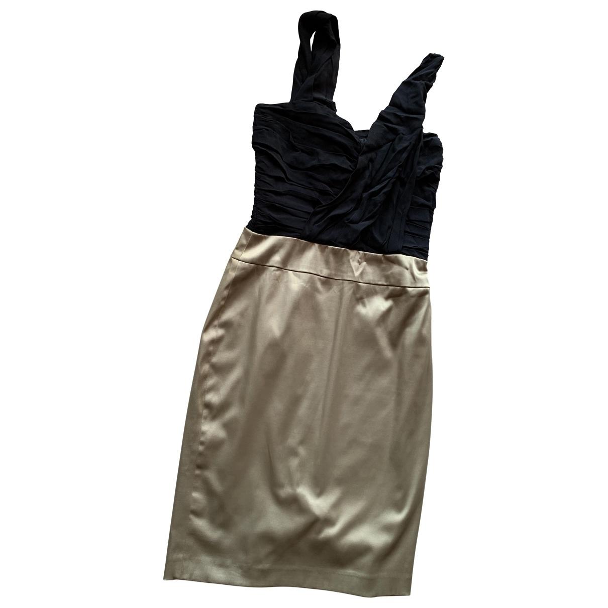 Reiss \N Kleid in  Gold Polyester