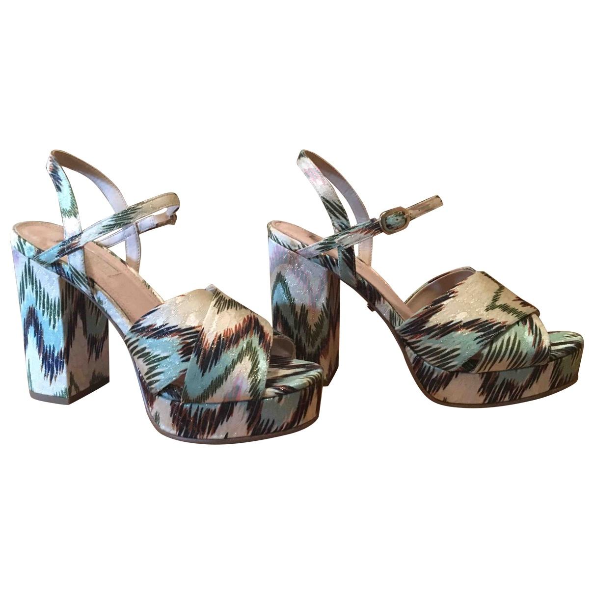 tophop \N Multicolour Cloth Sandals for Women 37 EU