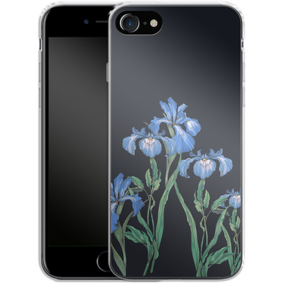 Apple iPhone 7 Silikon Handyhuelle - My Iris von Stephanie Breeze