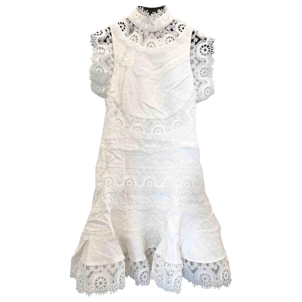 Mini vestido de Lino Zimmermann
