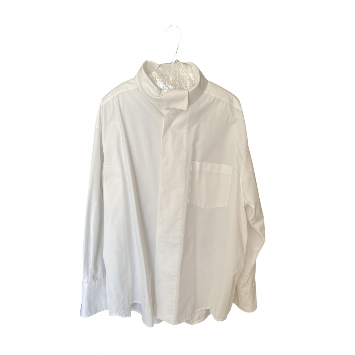Wooyoungmi \N White Cotton Shirts for Men M International
