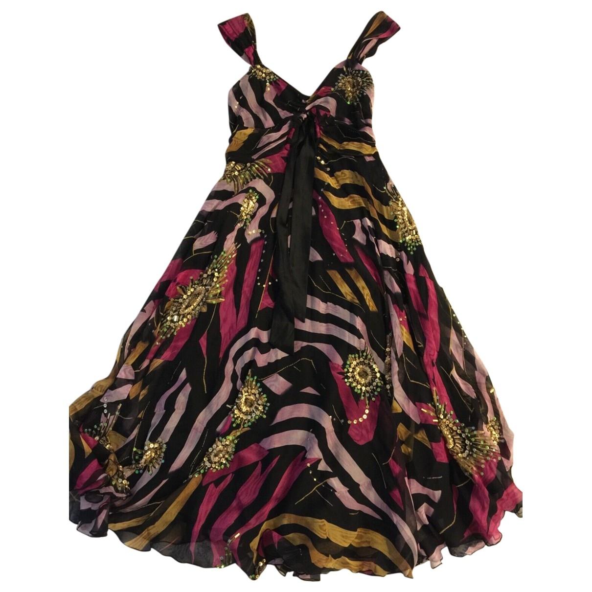 Diane Von Furstenberg \N Multicolour Silk dress for Women 4 US