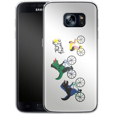 Samsung Galaxy S7 Silikon Handyhuelle - Monster Race von Le Tour de France