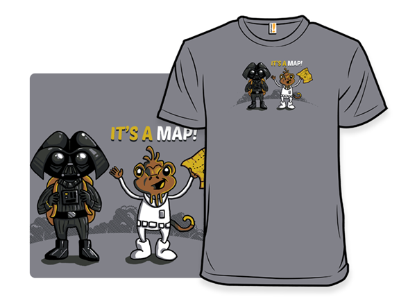 It's A Map! T Shirt