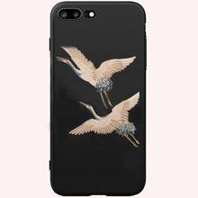 1pc Animal Print iPhone Case