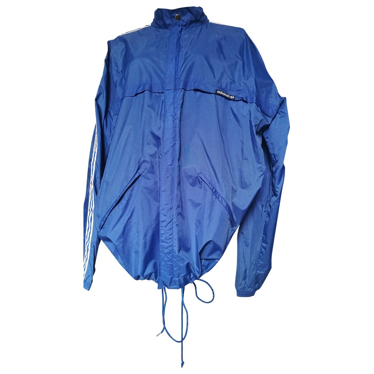 Adidas \N Jacke in  Blau Polyester