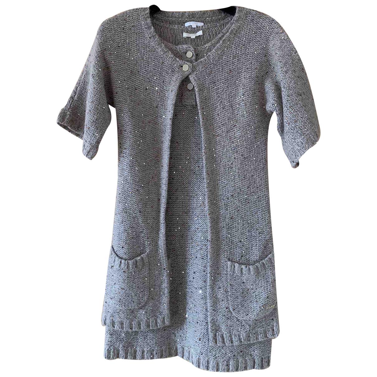 Chloé N Beige Wool dress for Kids 10 years - up to 142cm FR